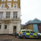 Police outside Blake's nightclub in Gravesend (Gareth Fuller/PA)