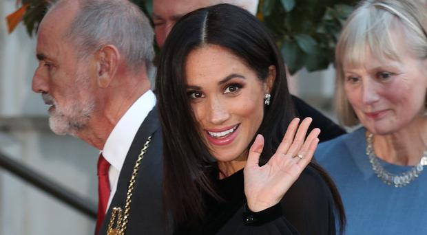 The Duchess of Sussex attends the opening of Oceania at the Royal Academy of Arts (Yui Mok/PA)