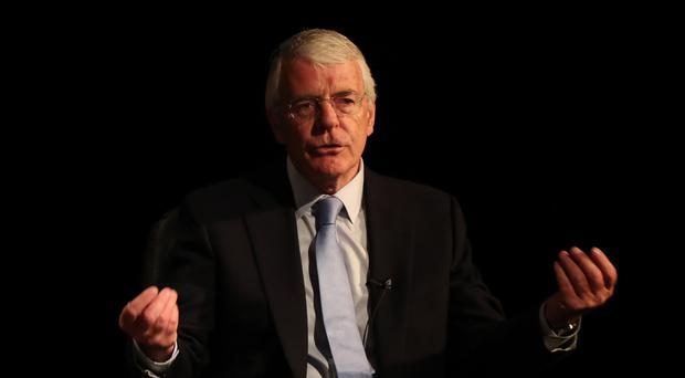 Sir John Major speaks on Brexit during a Best for Britain event (Scott Heppell/PA)