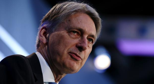 Chancellor Philip Hammond criticised the former foreign secretary (Daniel Leal-Olivas/PA)