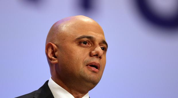 Home Secretary Sajid Javid announced plans for a new 'British values' test (Aaron Chown/PA)