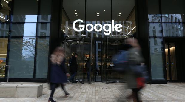 Google contends the type of 'representative action' being brought against it by Mr Lloyd is unsuitable (PA)