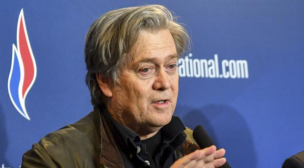 Steve Bannon Says Hes Not Trying To Impose American Solution On