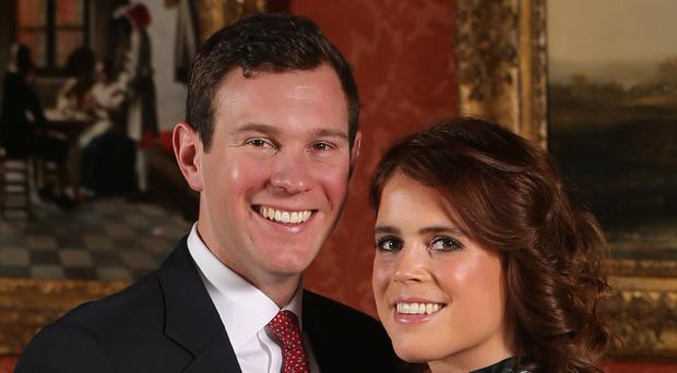 Princess Eugenie and Jack Brooksbank (Jonathan Brady/PA)