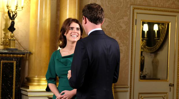 Princess Eugenie and Jack Brooksbank will marry on Friday (Royal Communications/PA)