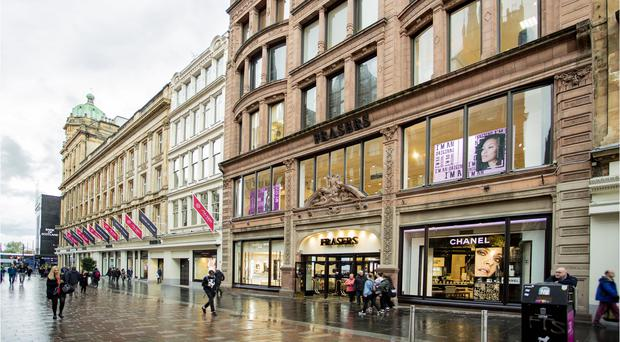 Glasgow's Frasers building has been bought by Sports Direct (PA)
