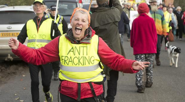 Fracking has proved controversial (Danny Lawson/PA)