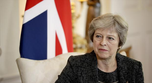 NI 'disagreement' must not lead to no deal Brexit - May