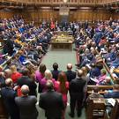 The House of Commons chamber (PA)