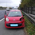 The car was found to have suffered severe damage when it was pulled over (North West Motorway Police/PA)