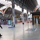 Commuters face disruption at Paddington Station in London (Stefan Rousseau/PA)