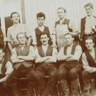 Robert Climie, top right, and fellow conscientious objectors(Peter Devlin)