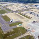 An aerial view of Gatwick Airport (Nick Ansell/PA)