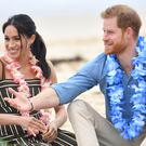 The Duke and Duchess of Sussex visit Bondi Beach on the fourth day of the royal couple's visit to Australia (Dominic Lipinski/PA)
