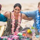 "The Duke and Duchess of Sussex took part in an ""anti-bad vibes"" circle as part of Fluro Friday (Dominic Lipinski/PA)"