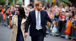 The Duke and Duchess of Sussex will unveil a Sydney war memorial (Phil Noble/PA)