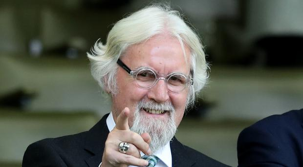 Actor and comedian Sir Billy Connolly said the important thing was to remain in contact with Europe (Jane Barlow/PA)