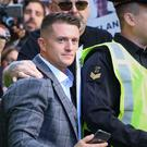 Former English Defence League leader Tommy Robinson (Yui Mok/PA)