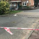 Police tape near the scene in Armitage Road, Greenwich (Tom Horton/PA)