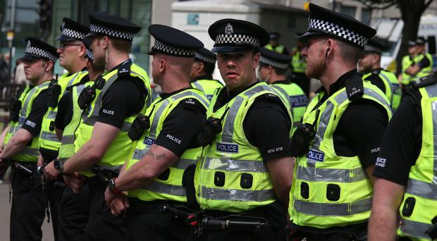 Scotland's police union chief says officers are regularly unable to take a break (Andrew Milligan/PA)