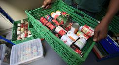 Universal Credit has led to a greater need for foodbanks a charity has claimed.