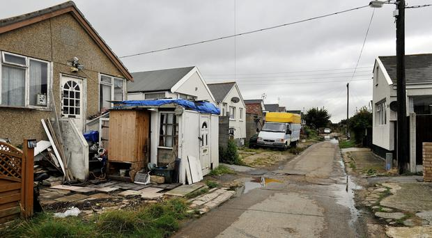 Morris Avenue on the Brooklands estate in East Jaywick (Nick Ansell/PA)