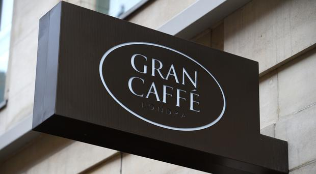 Gran Caffe Londra is opposite Harrods (Kirsty O'Connor/PA)