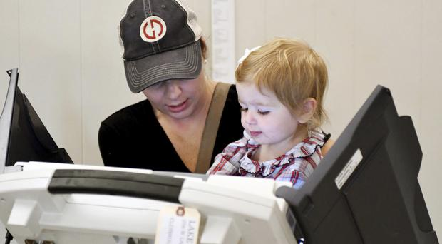 The United States has voted in midterm elections (Susan Broadbridge/AP)