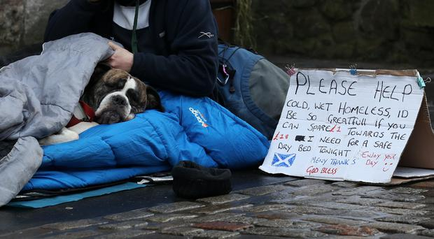 Donations of coats can be made from November 12 to 23 (Andrew Milligan/PA)