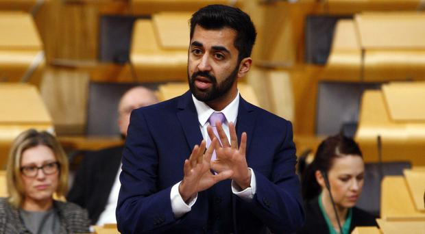 The family of murder victim Craig McClelland have written to Justice Secretary Humza Yousaf (Andrew Cowan/Scottish Parliament/PA)