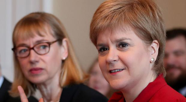 Leslie Evans was asked to conduct a review by First Minister Nicola Sturgeon (Jane Barlow/PA)