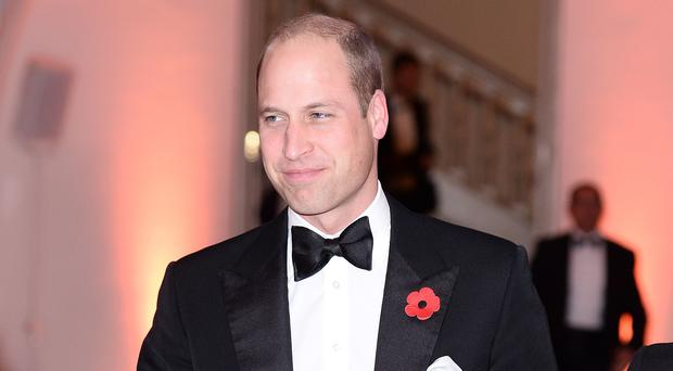 The Duke of Cambridge attends the Tusk Conservation Awards (Jeff Spicer/PA)