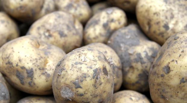 Food suppliers and processors in Northern Ireland could be heading for a clash with supermarkets over the soaring cost of potatoes. (Steve Parsons/PA)