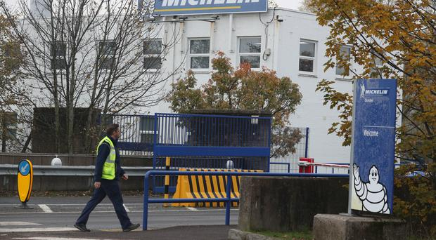Michelin plans to close its Dundee site by mid 2020 (Andrew Milligan/PA)