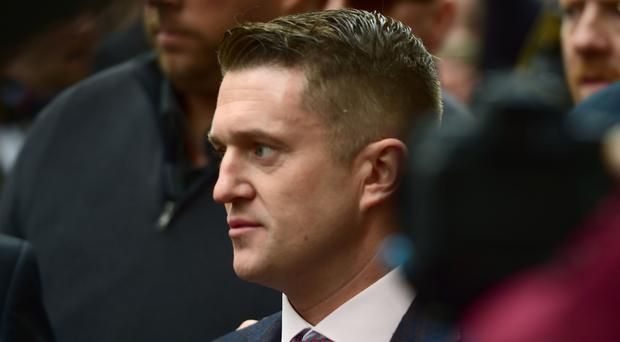 Former EDL leader Tommy Robinson (David Mirzoeff/PA)