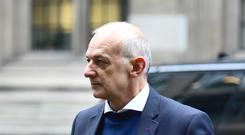 Andrew Tinkler arrives at the Rolls Building in London (Victoria Jones/PA)