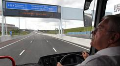 A £1.1 million fund will help roll out contactless payment technology to more buses. (Andrew Milliagan/PA)