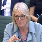 Margot James speaks to the Science and Technology Committee (Parliament Live/PA)
