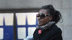 Labour MP Fiona Onasanya leaves the Old Bailey in London (Victoria Jones/PA)