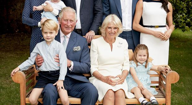The pictures have been released for Charles' 70th birthday (Chris Jackson/Clarence House)
