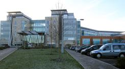 The money was stolen from a dementia patient at Peterborough City Hospital in Cambridgeshire.