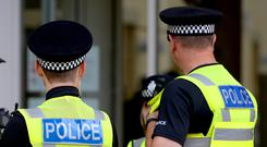 Police are investigating the incident in Airdrie (Joe Giddens/PA)