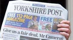 Johnston Press, which publishes The Yorkshire Post, is in administration (Stefan Rousseau/PA)