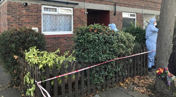 A 75-year-old woman was stabbed to death in Ethnard Road, Peckham (Ryan Hooper/PA)