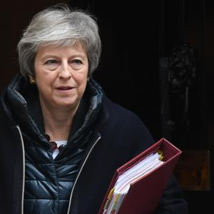 Theresa May was flying to the Belgian capital for tea-time talks with European Commission president Jean-Claude Juncker (Stefan Rousseau/PA)