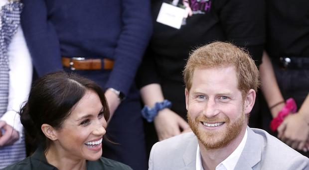 The Duke and Duchess of Sussex, who are moving to a cottage in the Windsor Estate next year, Kensington Palace said. (Chris Jackson/PA Images).