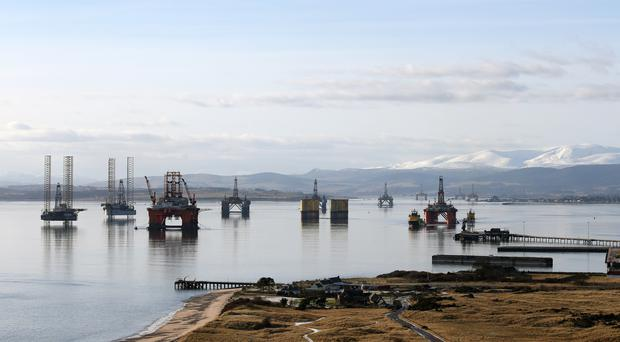 The Port of Cromarty Firth (Andrew Milligan/PA)
