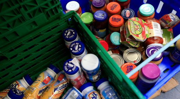 A charity which runs foodbanks across Northern Ireland has warned that it is preparing for its busiest December ever in the run-up to Christmas. (Jonathan Brady/PA)