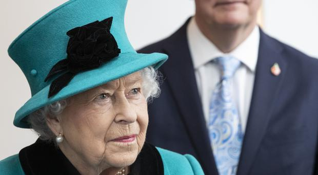 The Queen hosted a private luncheon at the palace (Heathcliff O'Malley/Daily Telegraph/PA)