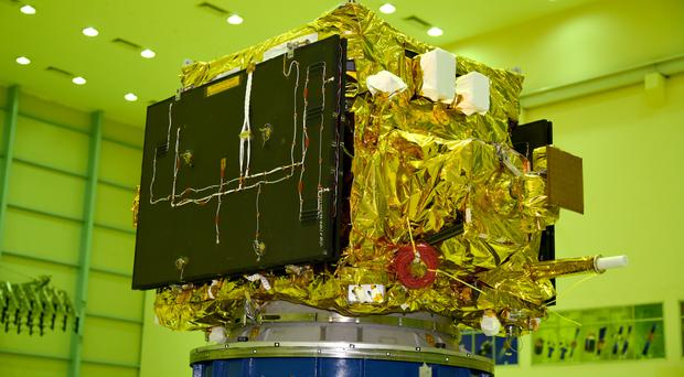 The satellites will measure refracted radio signals passing through the Earth's atmosphere (ISRO)